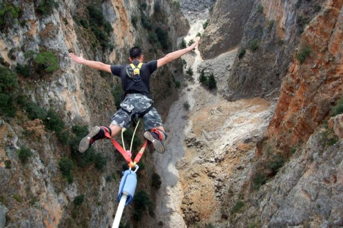 Bungy Jumping Experience