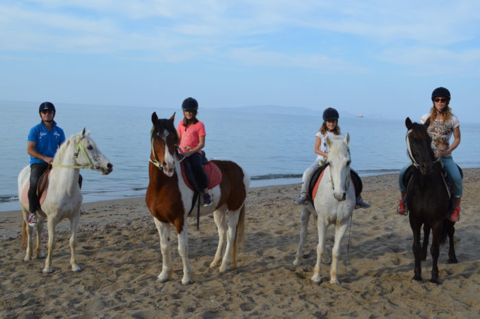 Horse Riding along 1,5klm Beach in Heraklion